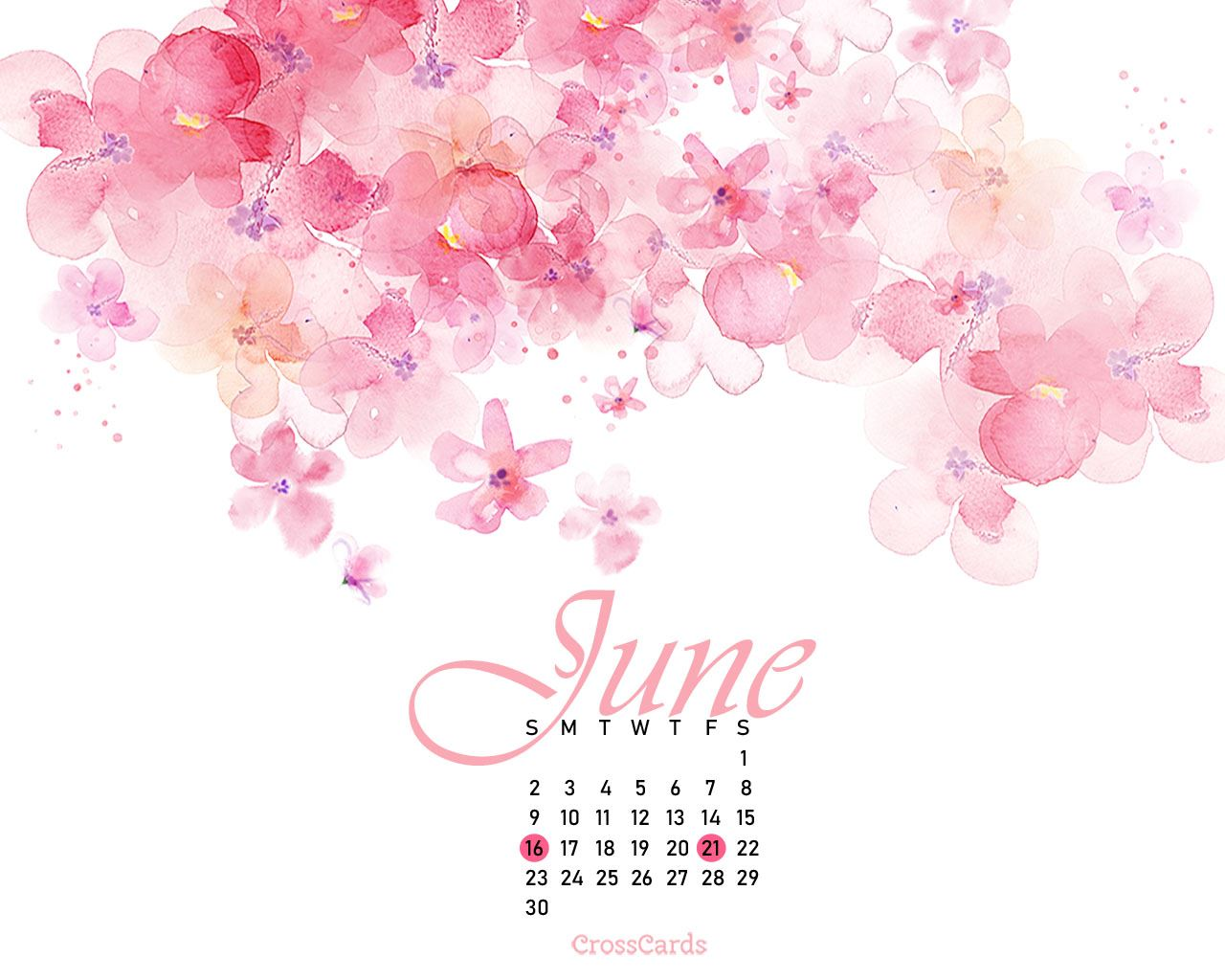 June Calendar Wallpaper Posted By Zoey Tremblay