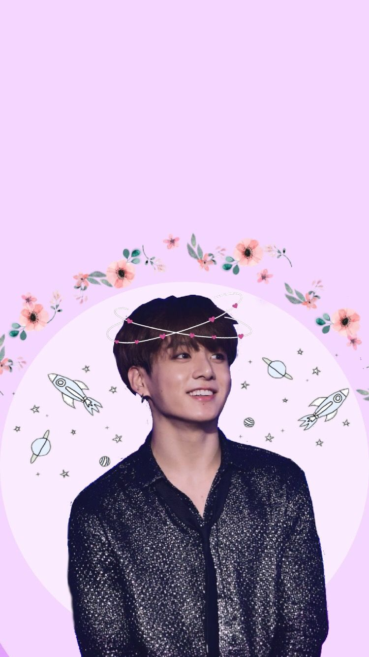 bts jungkook wallpaper pastel cute kpop aesthetic