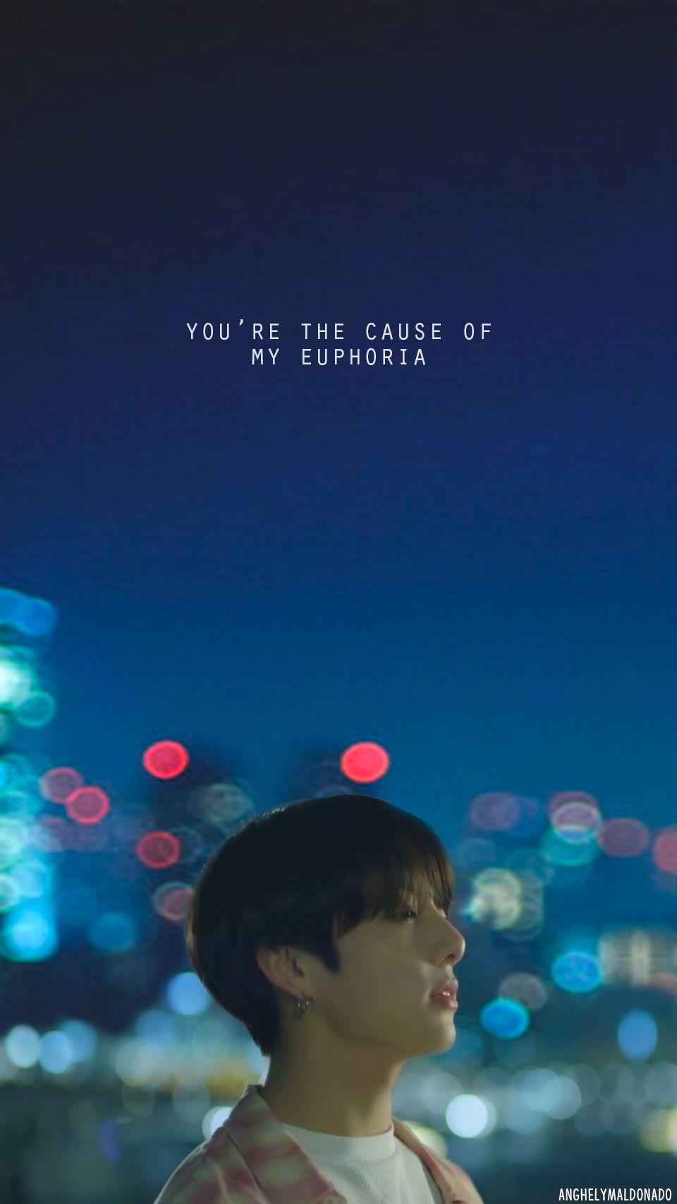 Jungkook Wallpaper Euphoria Lyrics Bts walpaper Bts