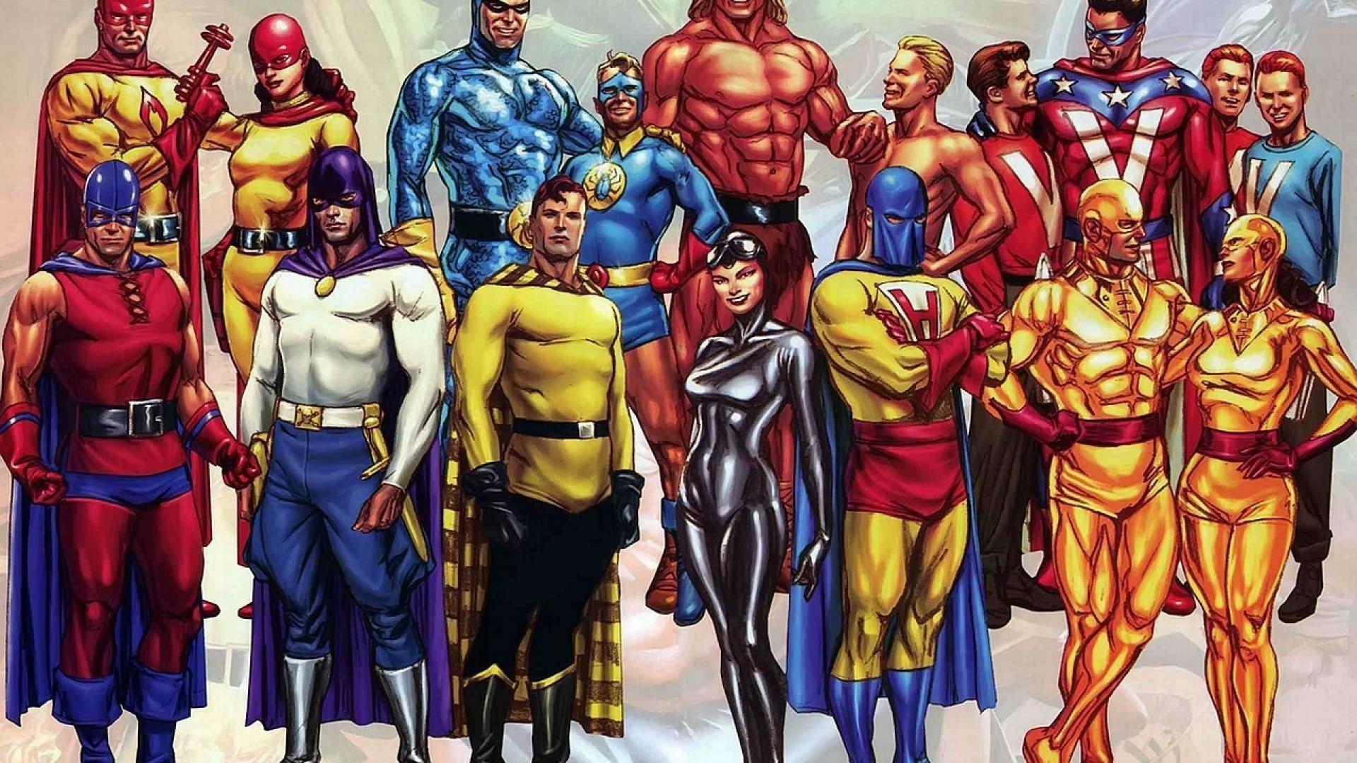 Justice League Comic Wallpaper