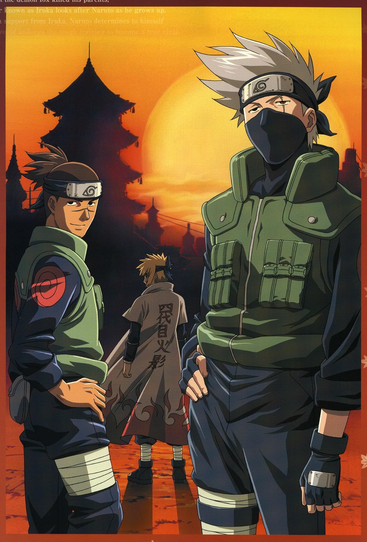 Naruto Kakashi digital wallpaper Naruto Shippuuden Umino