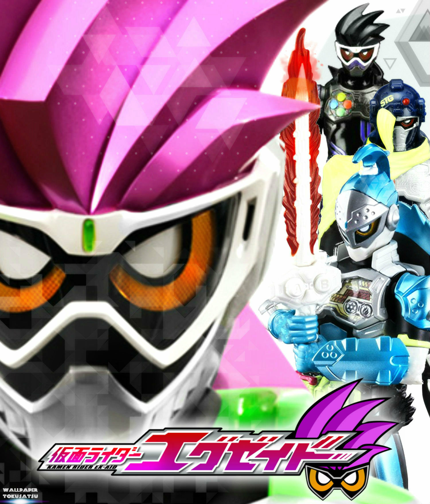Kamen Rider Ex Aid Wallpaper Posted By John Peltier