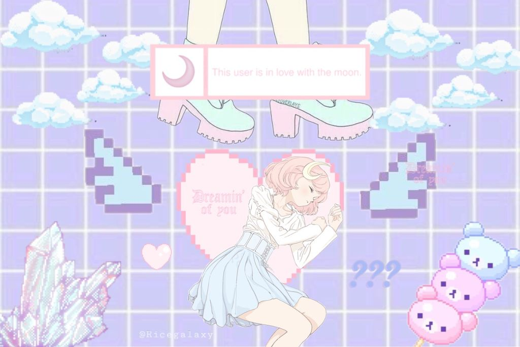 Kawaii Anime Aesthetic Wallpapers Posted By Sarah Sellers