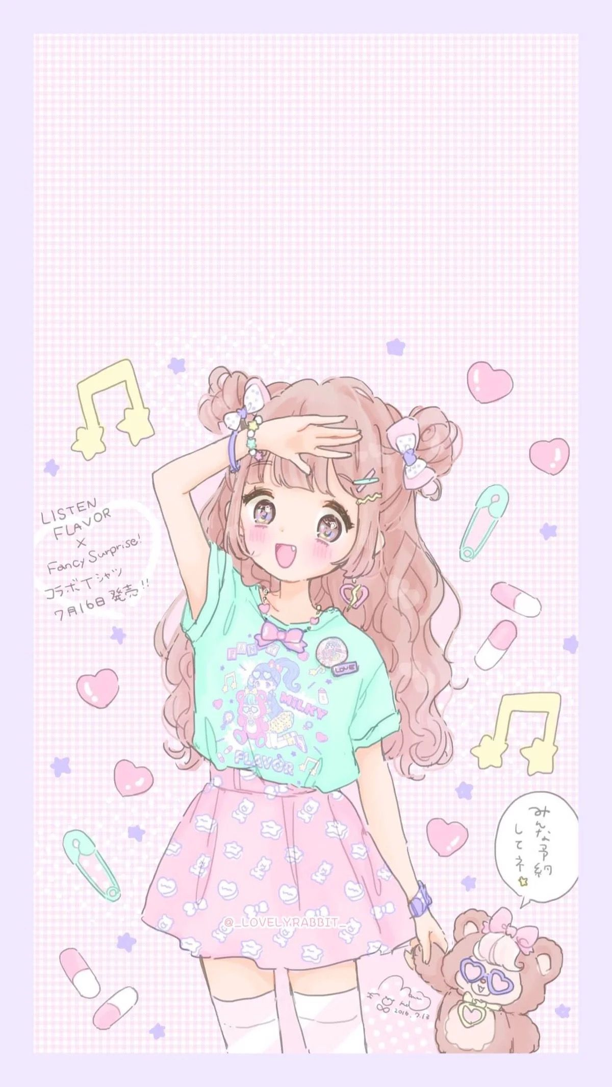 Kawaii Anime Wallpaper Posted By Ryan Johnson
