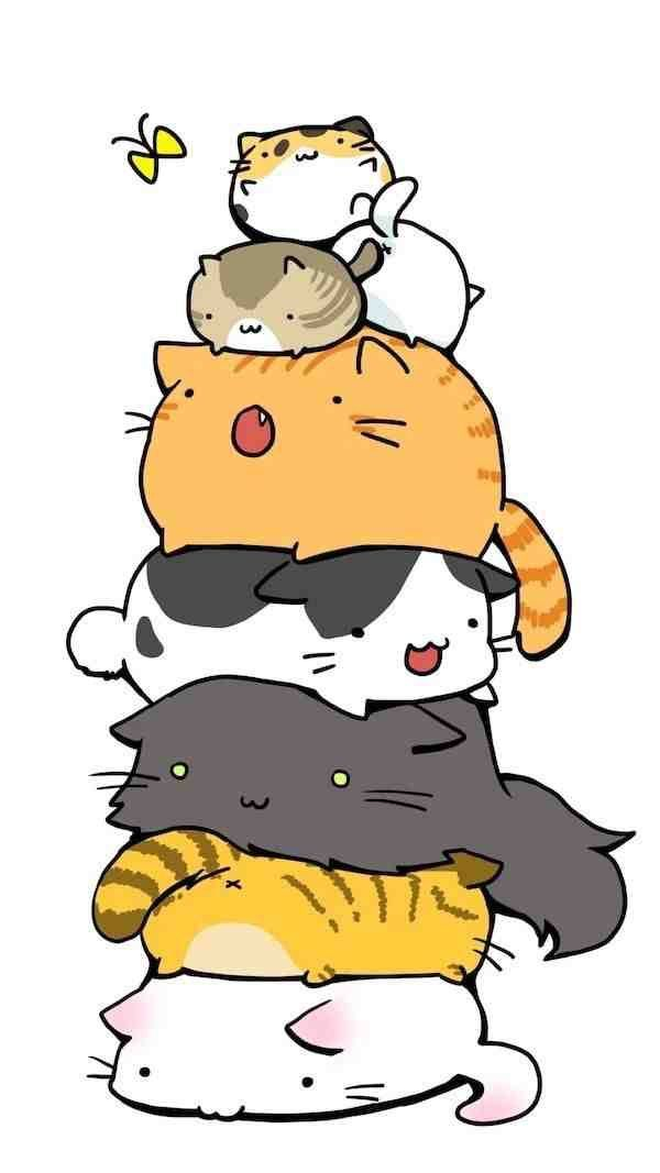 Kawaii Cats Wallpaper Posted By Christopher Walker