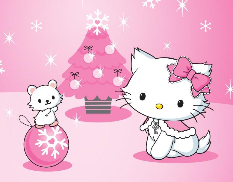 49 Hello Kitty Merry Christmas Wallpaper on WallpaperSafari