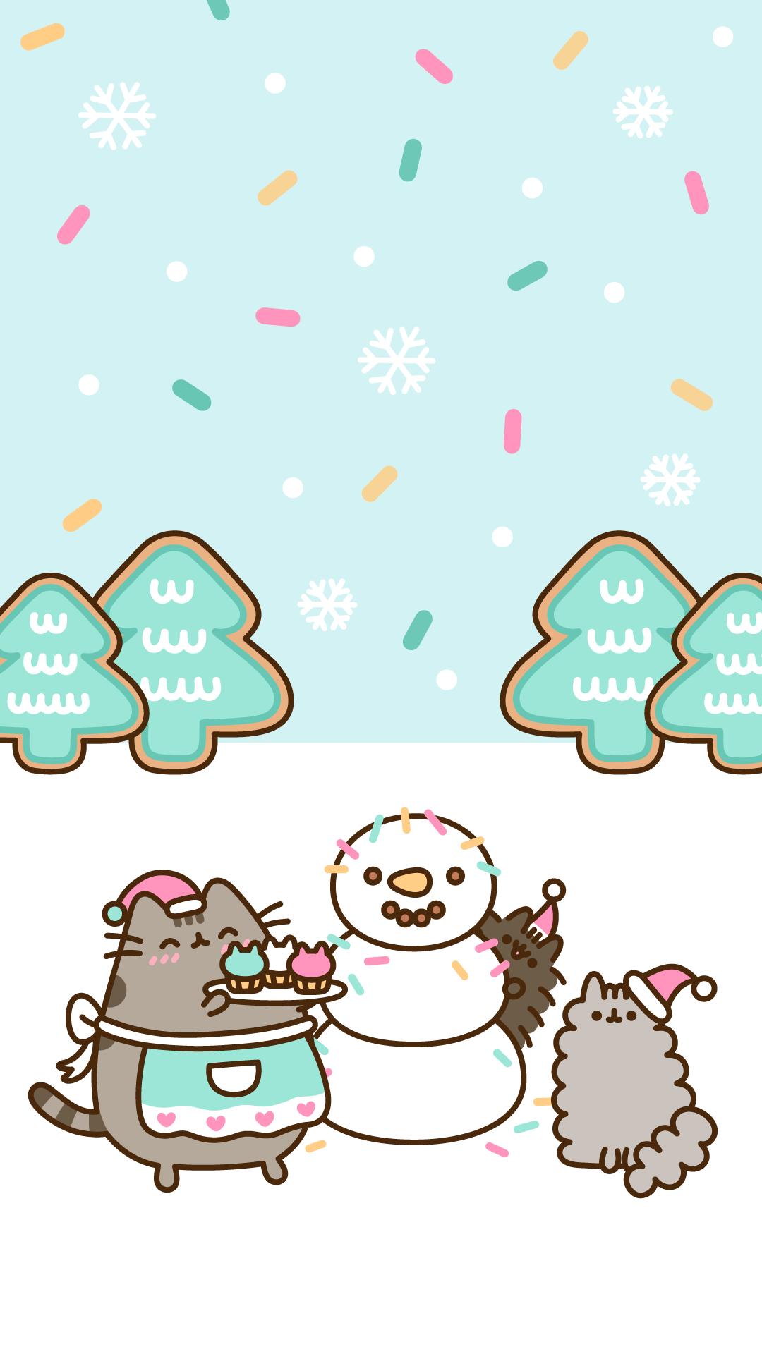 Christmas Kawaii Wallpapers Top Free Christmas Kawaii