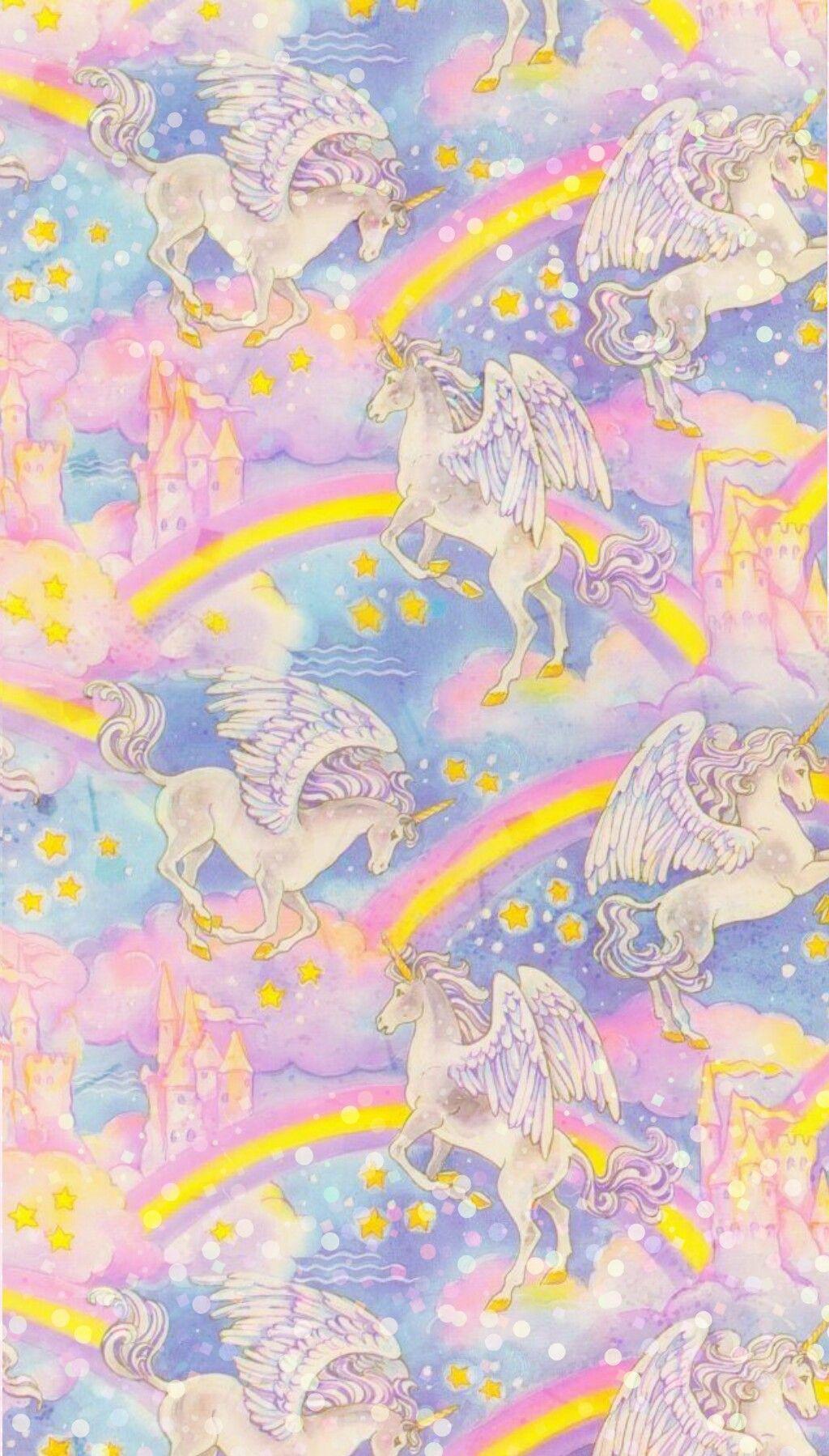 40 Glitter Rainbow Unicorn Wallpapers Download at