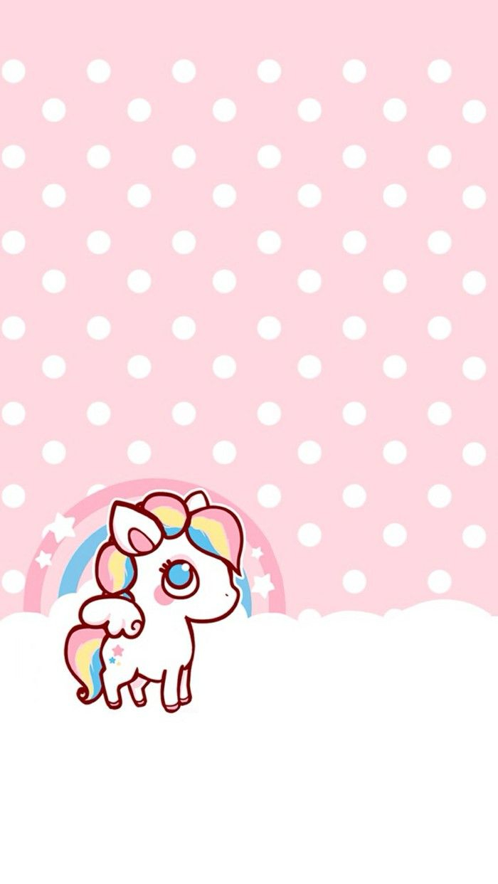 Kawaii Unicorn For Iphone Wallpapers Posted By Zoey Mercado