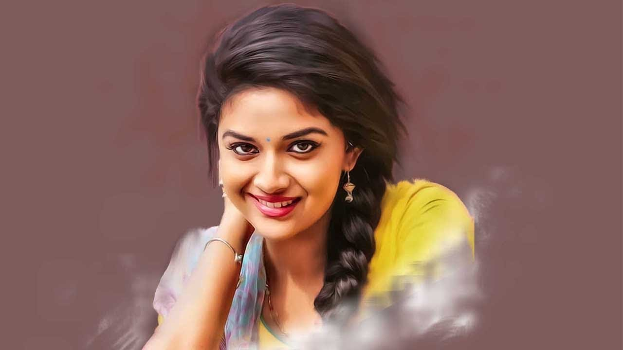 The Best Smile Keerthi Suresh Hd Wallpapers