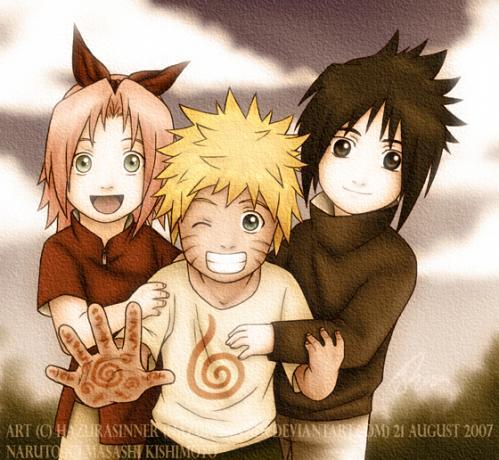 sakura sasuke naruto Little Naruto Kids Photo 31512672