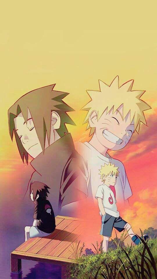 Kid Sasuke and Kid Naruto Naruto Amino