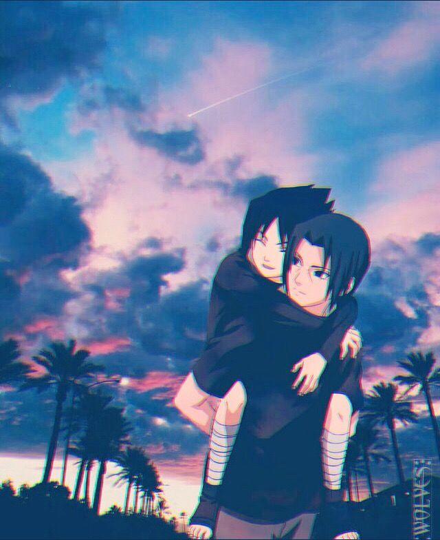 itachi and kid sasuke asAd naruto sasuke uchiha uchihas uch