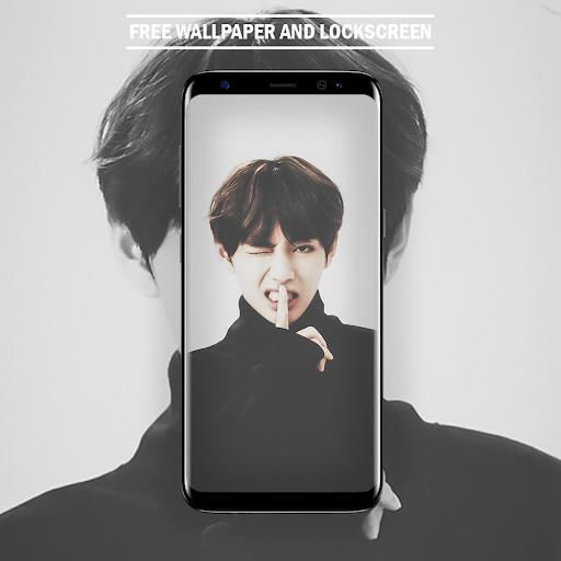 BTS V Kim Tae Hyung Wallpaper HD Kpop Fans New 4.1.2 apk