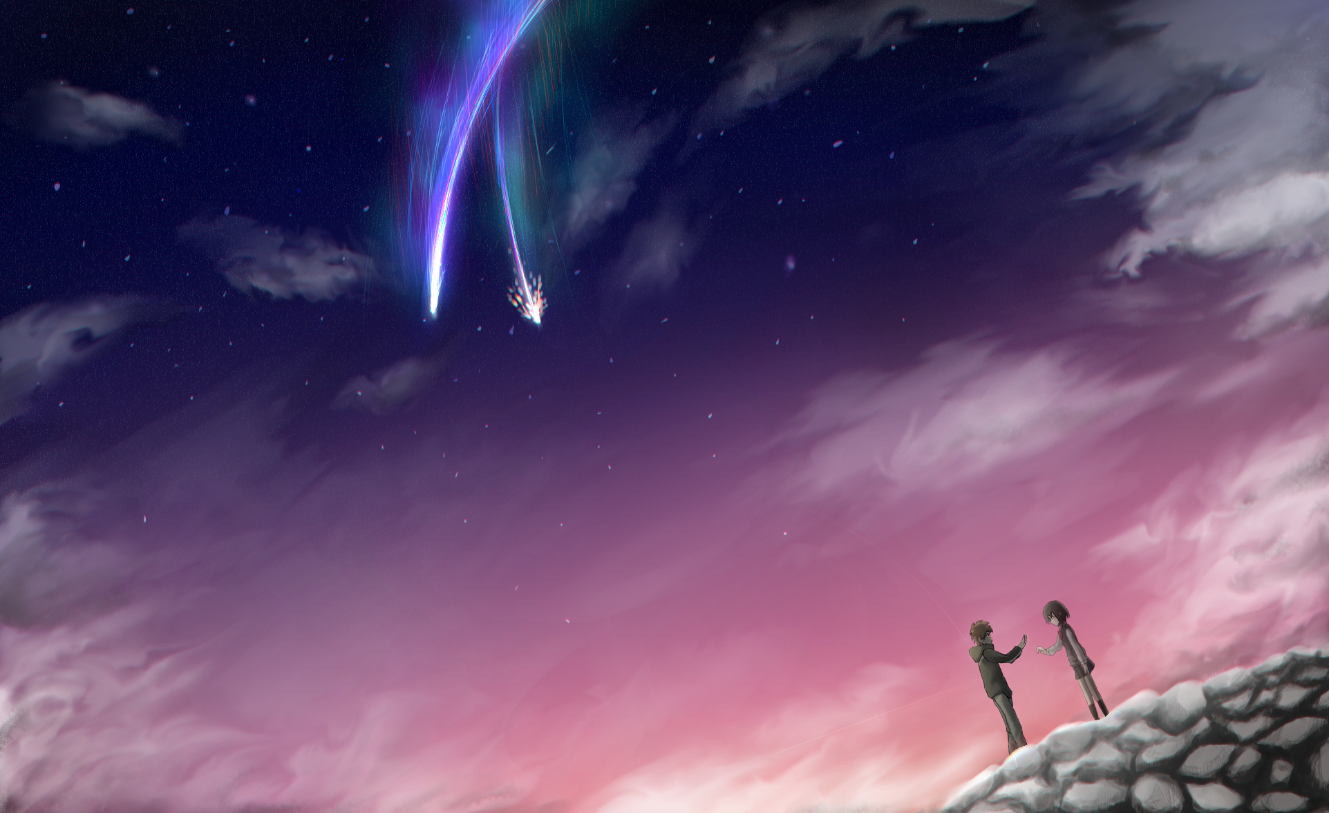 Kimi No Na Wa Backgrounds Posted By Ryan Walker