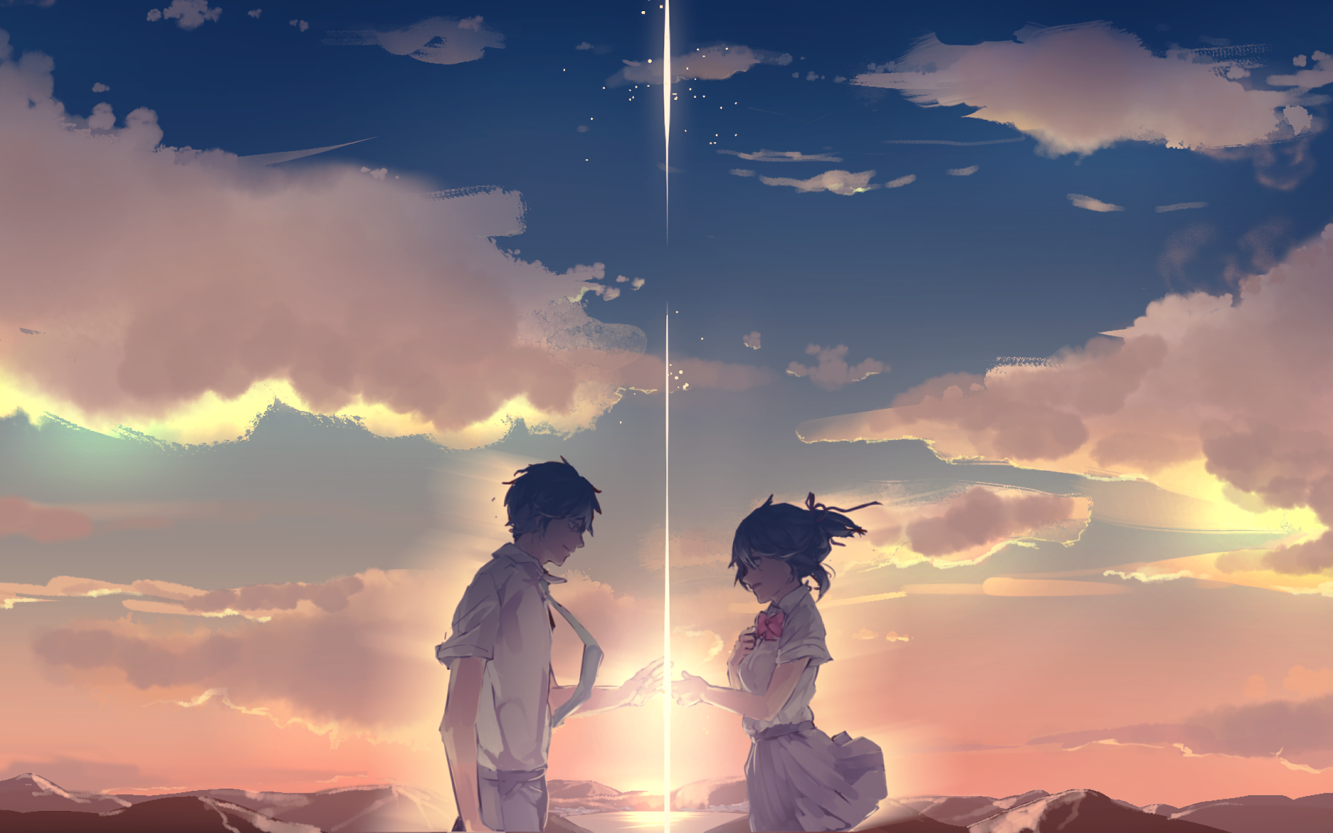 Kimi No Na Wa Desktop Background Posted By Michelle Tremblay