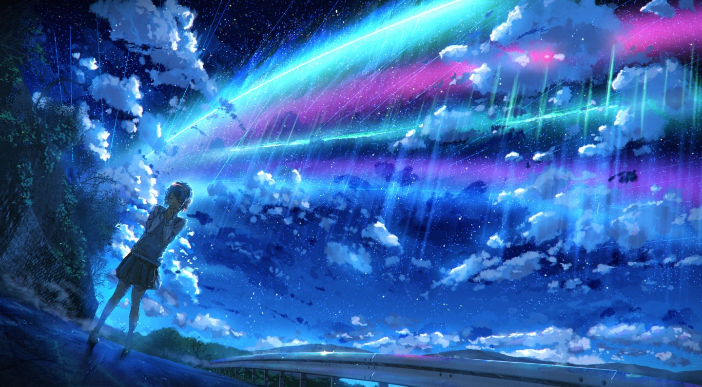 Kimi No Na Wa Wallpaper Posted By Ethan Thompson