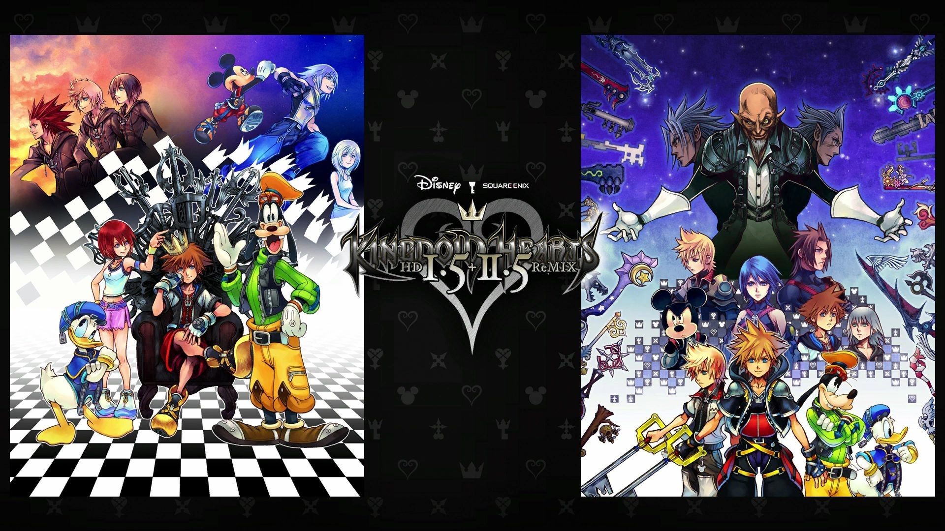 Kingdom Hearts 2 Wallpaper 1920x1080 Posted By John Walker