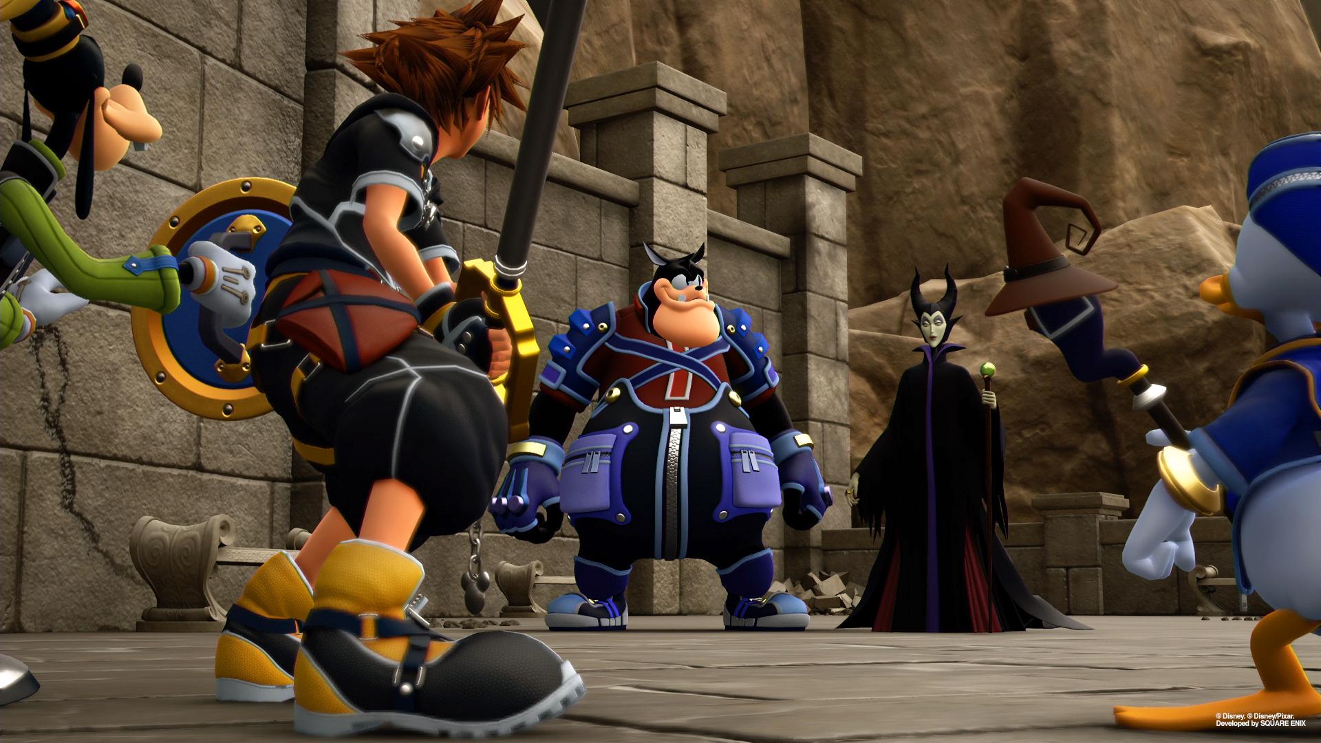 Kingdom Hearts 3 4k Wallpaper Posted By Samantha Mercado