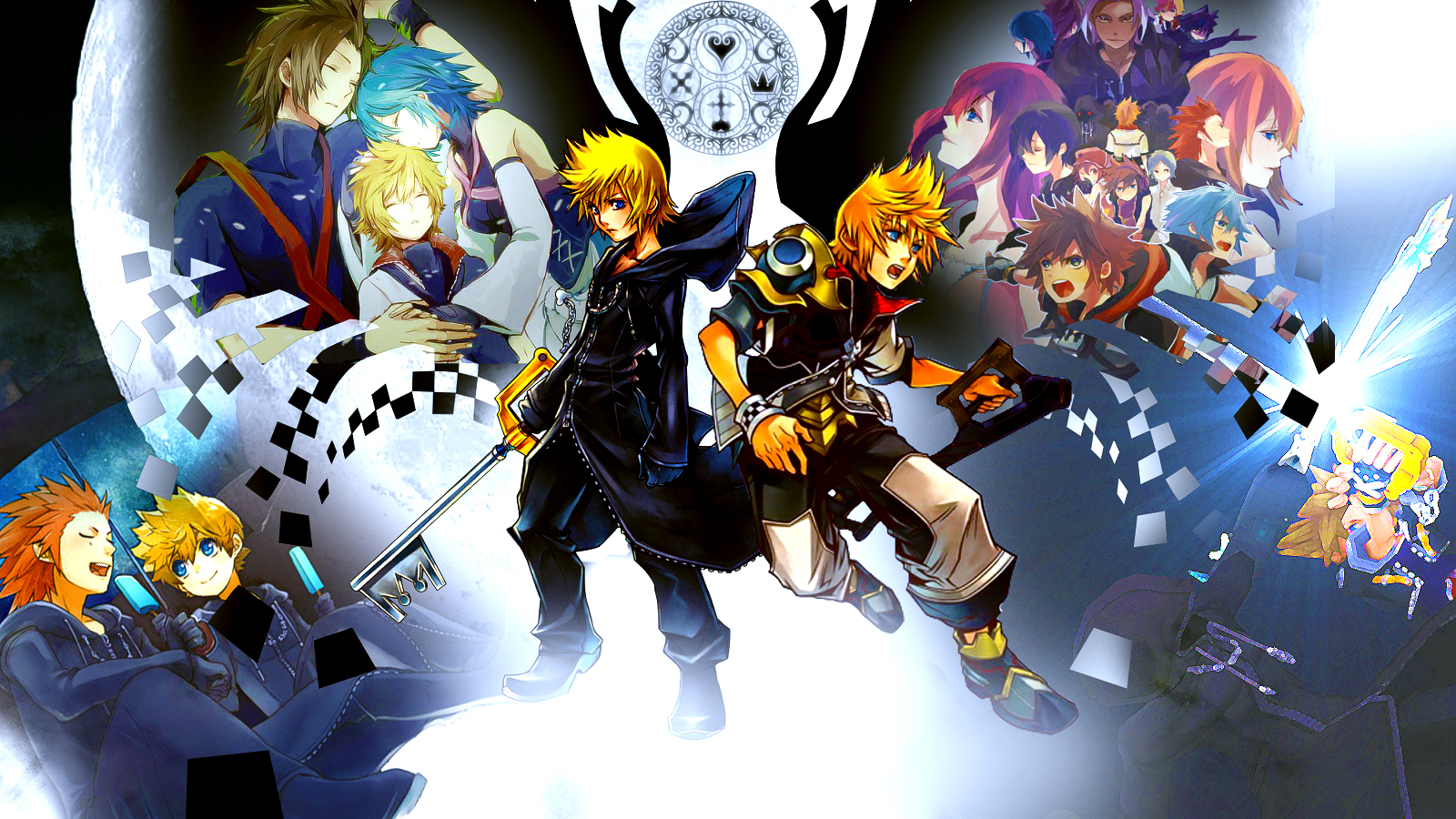 Kingdom Hearts 3 Cover Art Wallpaper Posted By Zoey Simpson