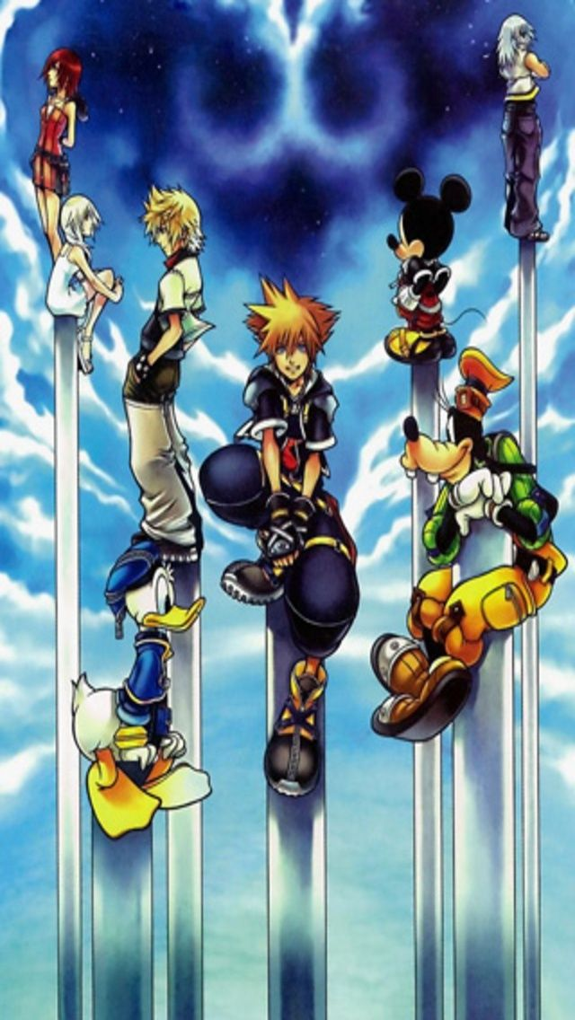 Kingdom Hearts Iphone Background Posted By Samantha Peltier
