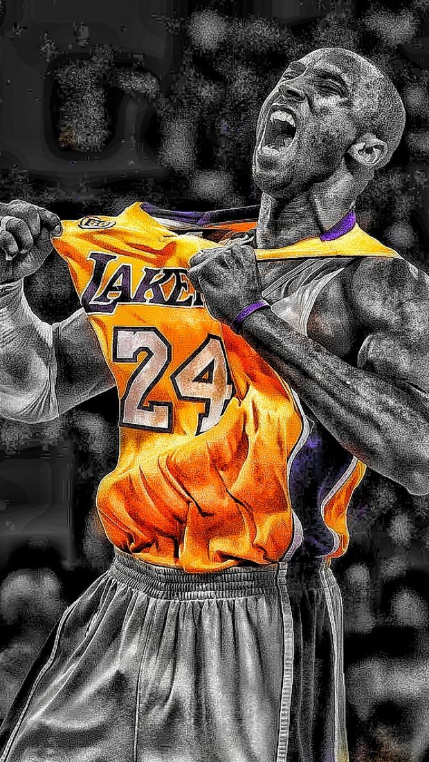 Kobe Bryant Iphone Wallpapers Posted By Samantha Walker
