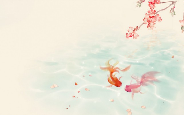 Koi Fish Desktop Wallpaper Posted By Christopher Walker