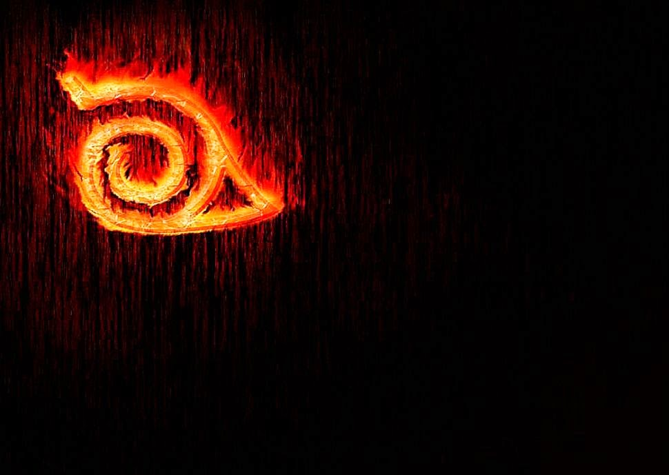 Naruto Shippuden Konoha Emblem Wallpapers Hd Background