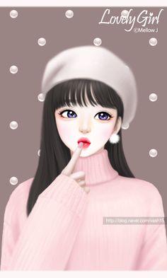 Wallpaper Cute Korea Cute Korean Cartoon Romantic Eco