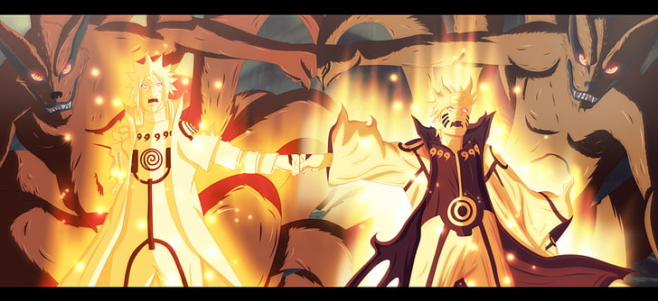 HD wallpaper Anime Naruto Beast Hokage Naruto Kurama