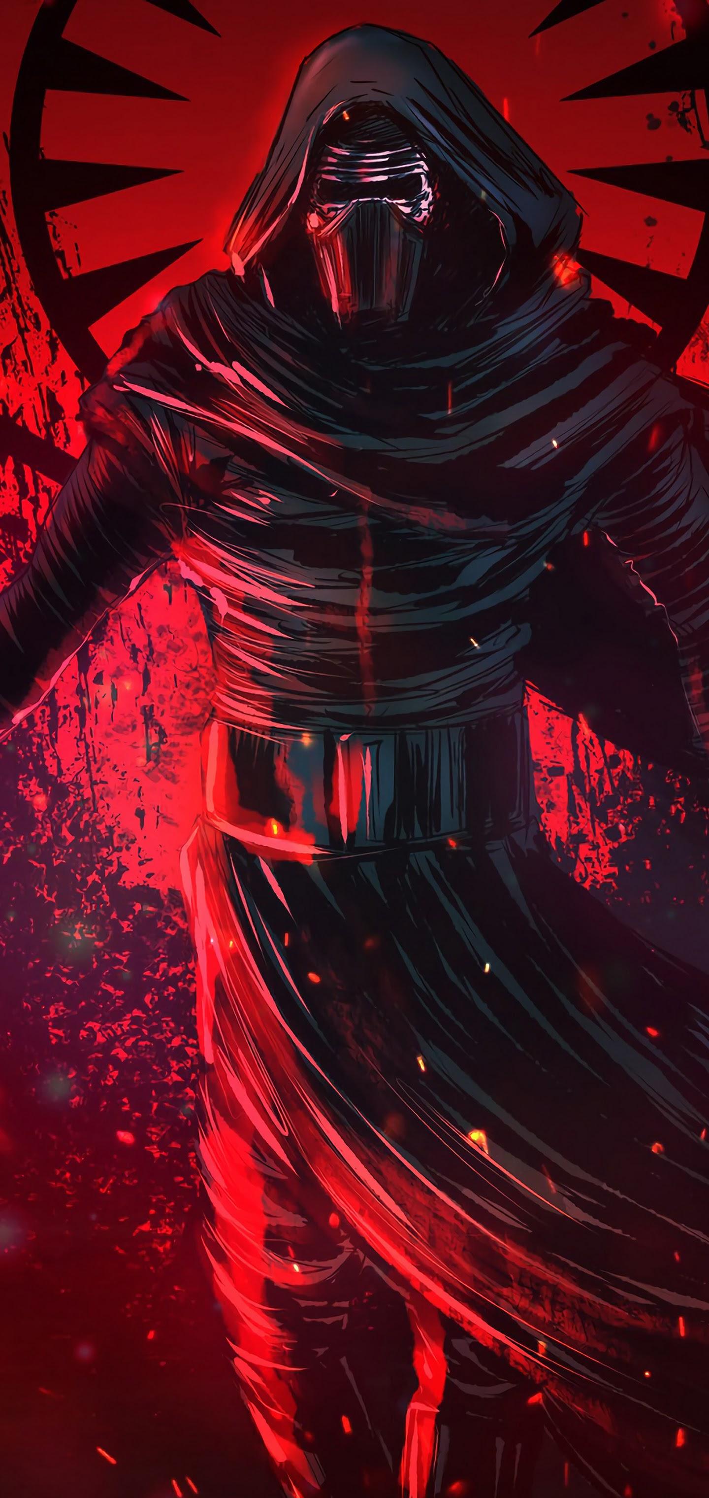 Kylo Ren Lightsaber Star Wars 4K 3840x2160 Wallpaper 16