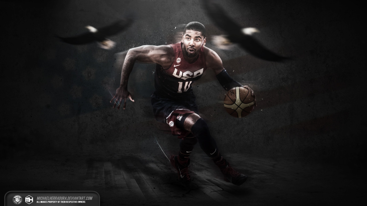 Kyrie Irving Usa Wallpaper Posted By Zoey Sellers