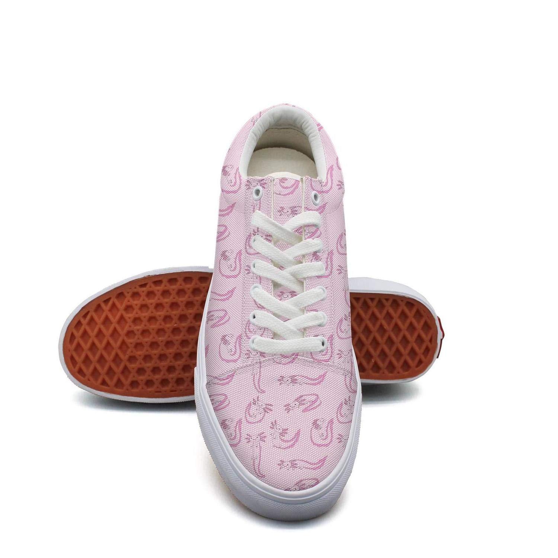 Ouxioaz Womens Laced Shoe Physics Element Wallpaper Work Shoe Laces