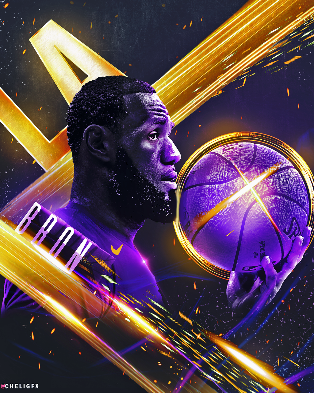Lakers Phone Wallpaper Posted By Sarah Sellers