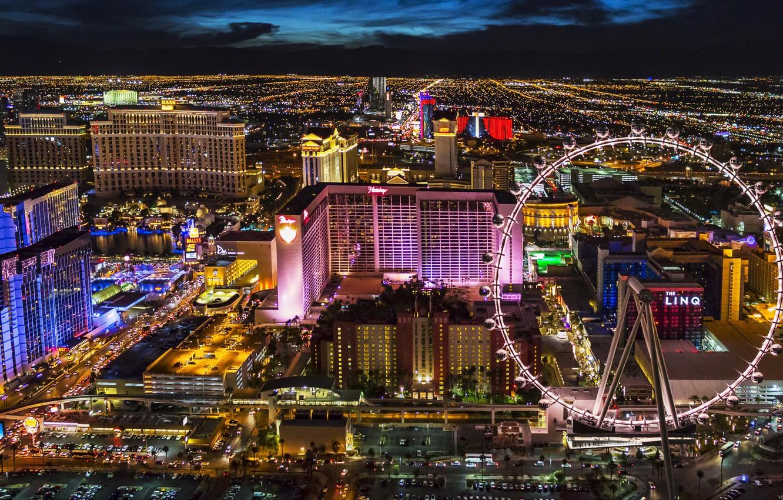 Las Vegas At Night Wallpaper