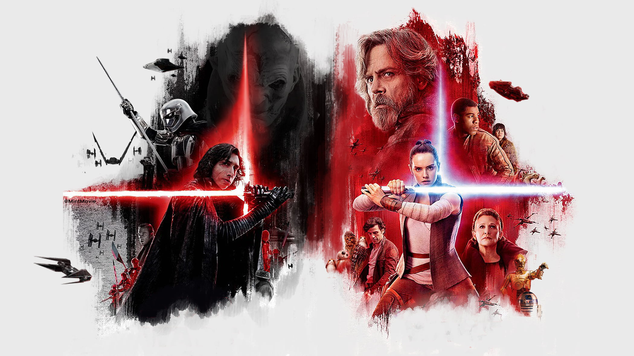 Last Jedi Wallpapers Posted By Christopher Tremblay