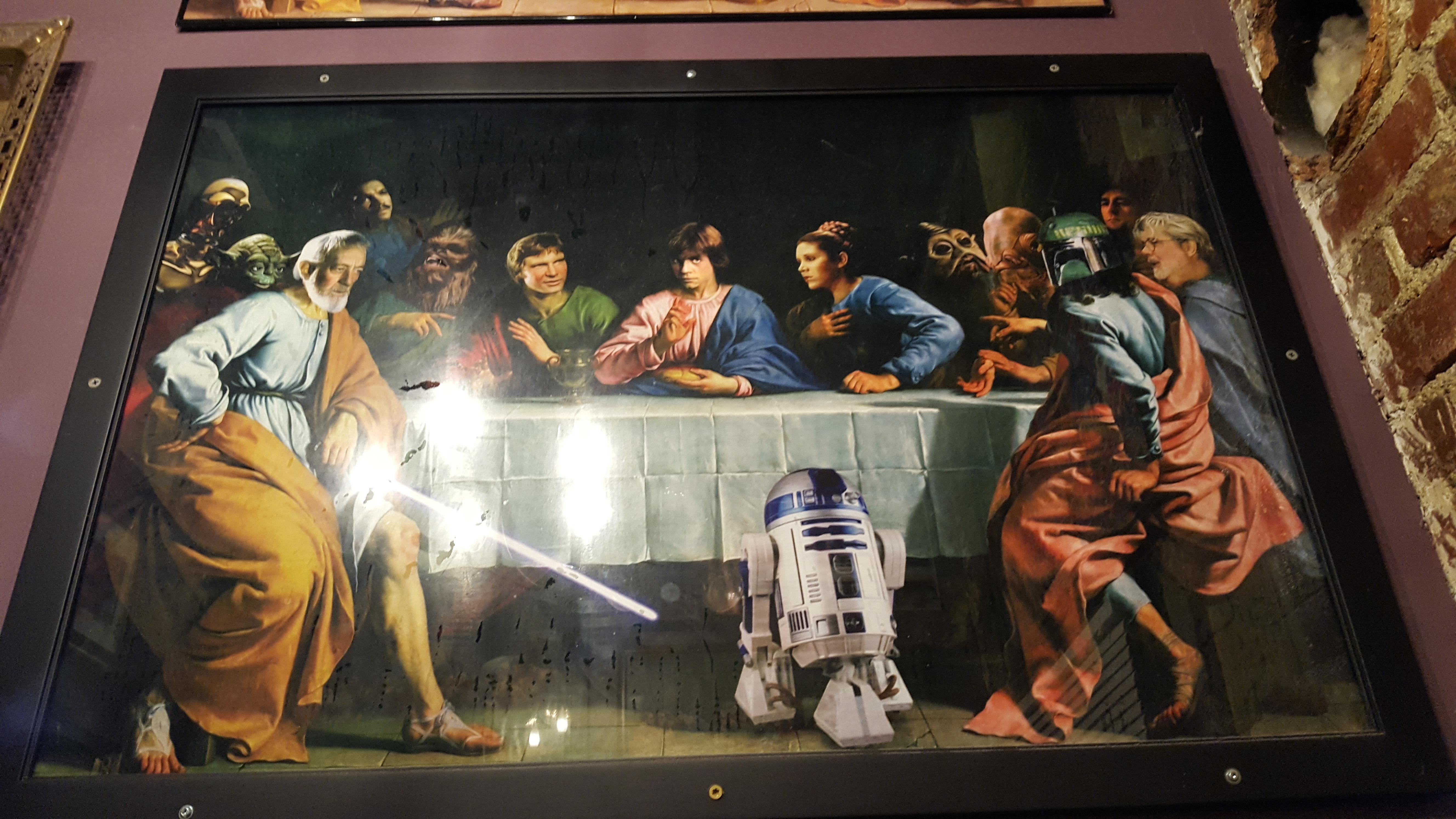 Last Supper Star Wars Posted By John Walker