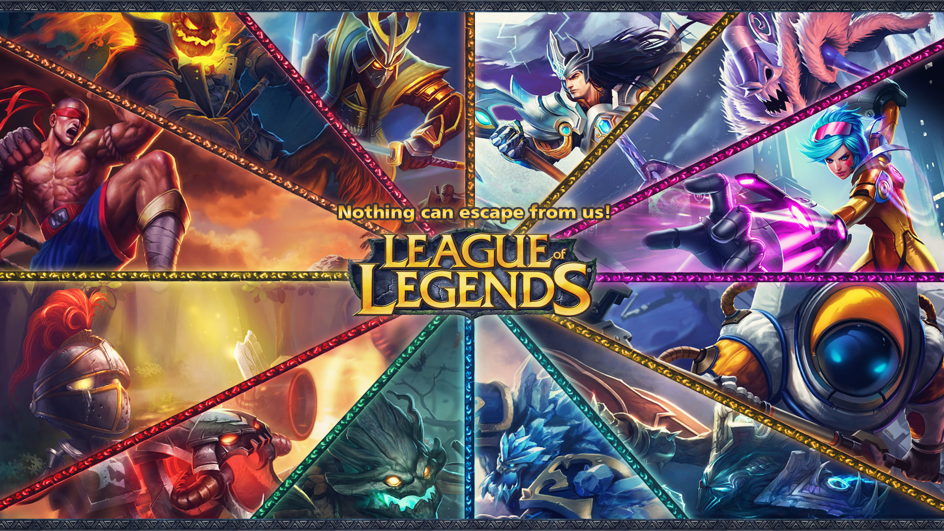 League Of Legends Hd Wallpaper Posted By Ethan Peltier