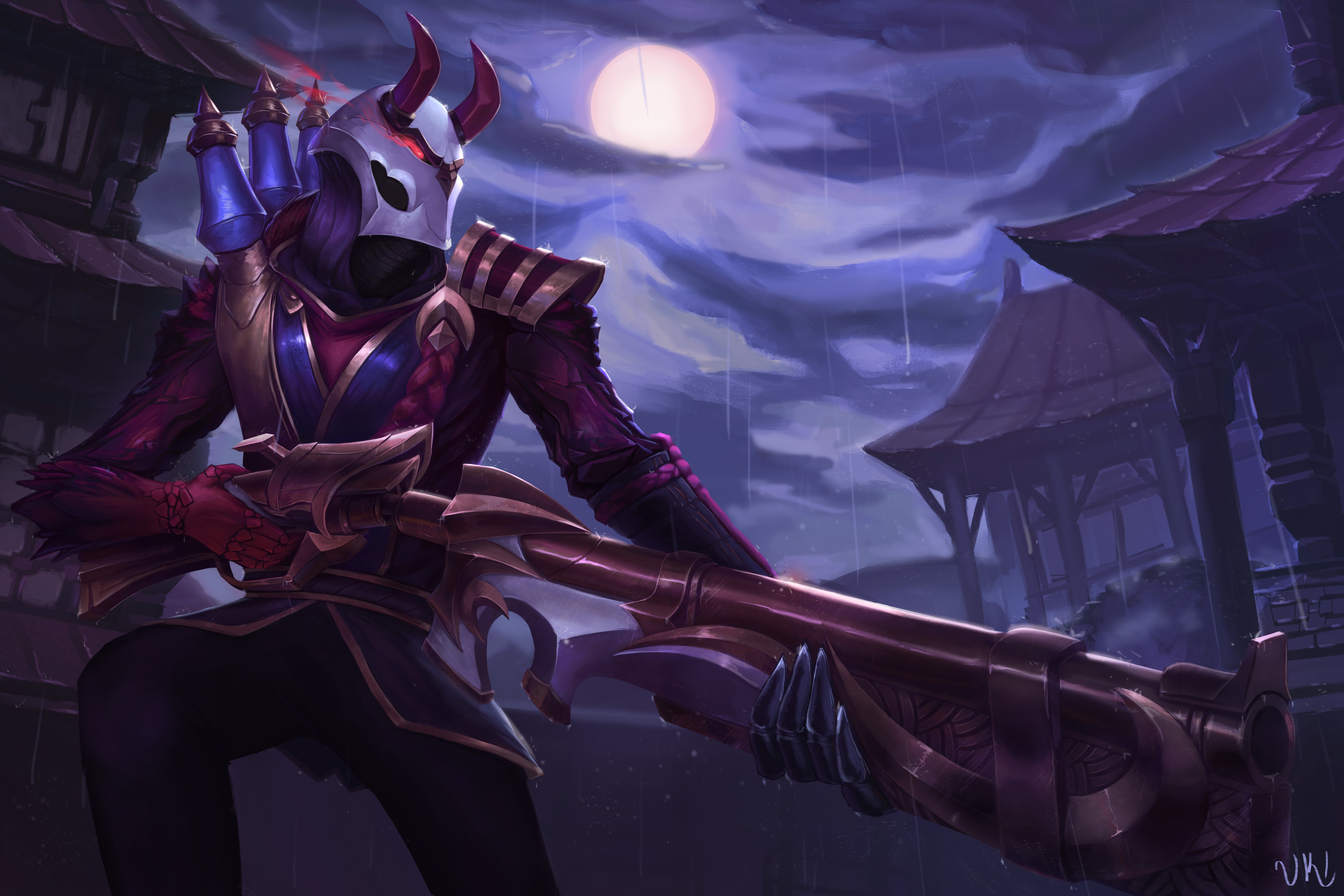 League Of Legends Jhin Wallpaper Posted By Zoey Anderson