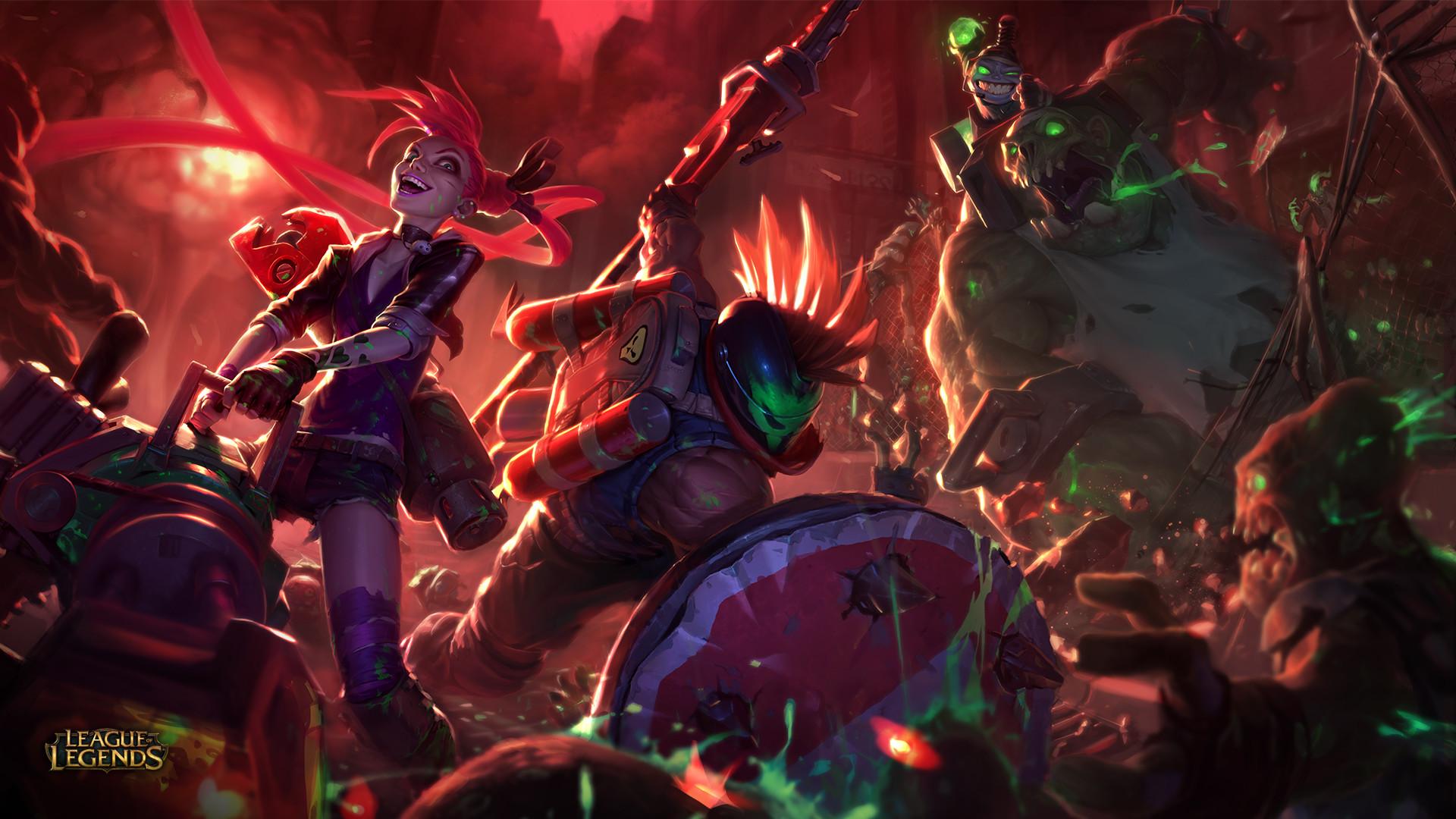League Of Legends Jinx Wallpaper Posted By Zoey Peltier