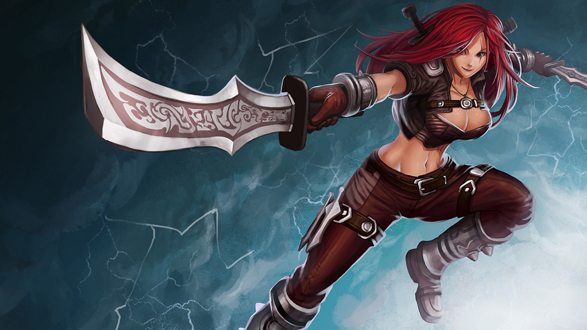 League Of Legends Katarina Wallpaper