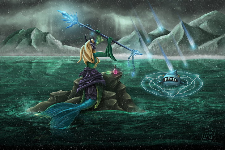 League Of Legends Nami Wallpaper Posted By Samantha Anderson