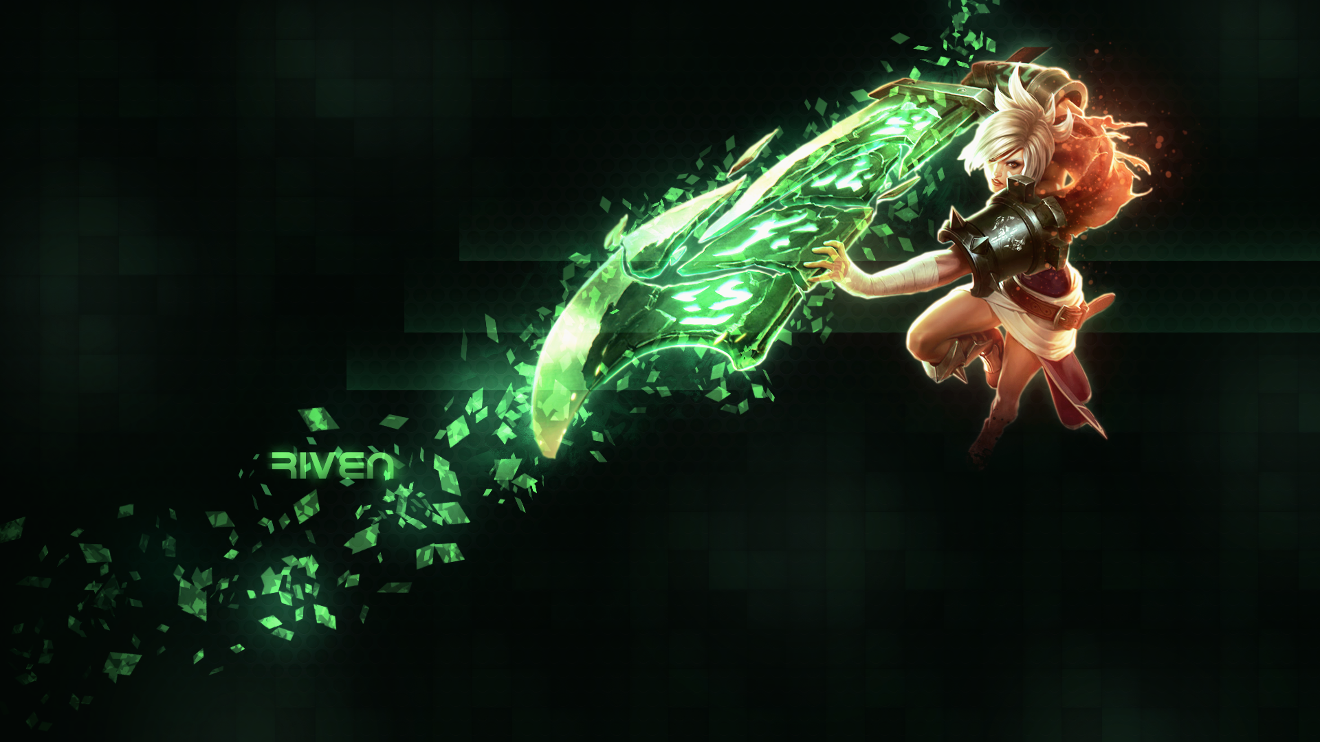 League Of Legends Wallpaper Hd Riven Posted By Sarah Simpson
