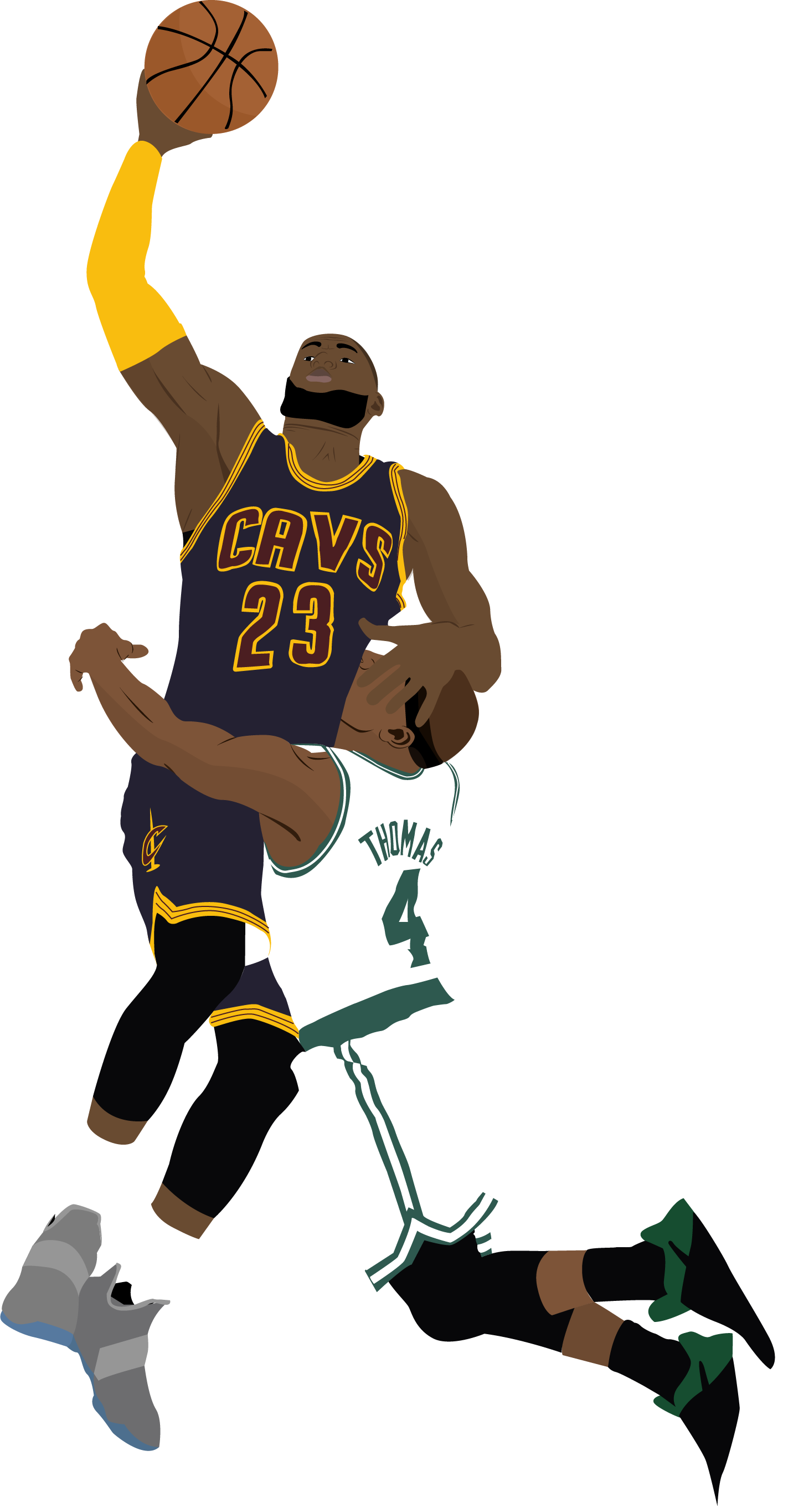 Lebron James Cartoon Wallpaper Posted By Zoey Peltier