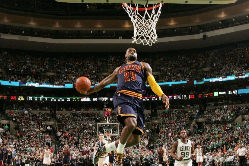 Lebron James Dunks Wallpaper Posted By Samantha Johnson