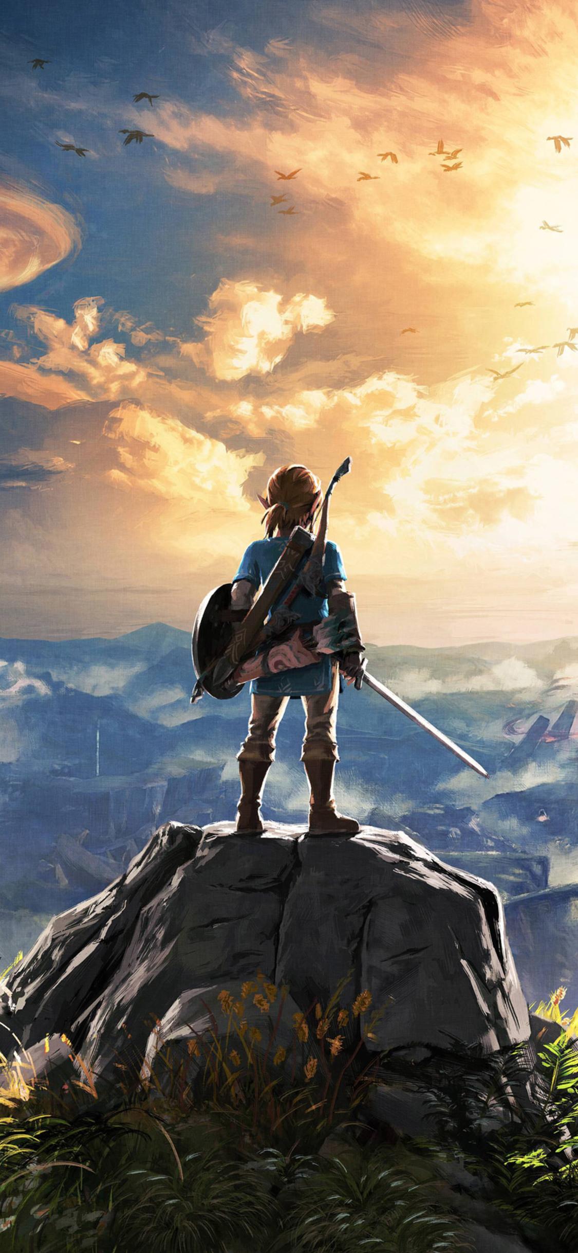 Legend Of Zelda Breath Of The Wild Desktop Wallpaper Posted By