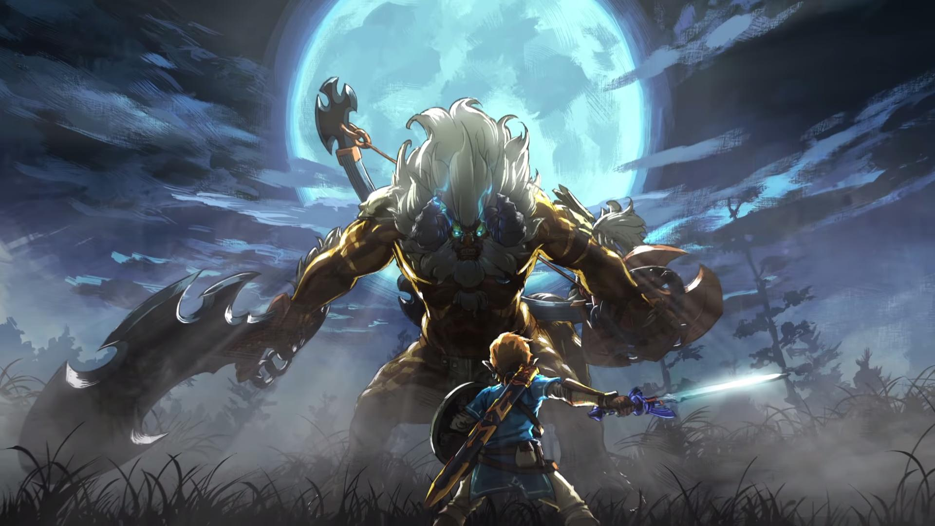 Legend Of Zelda Breath Of The Wild Wallpaper Posted By Christopher
