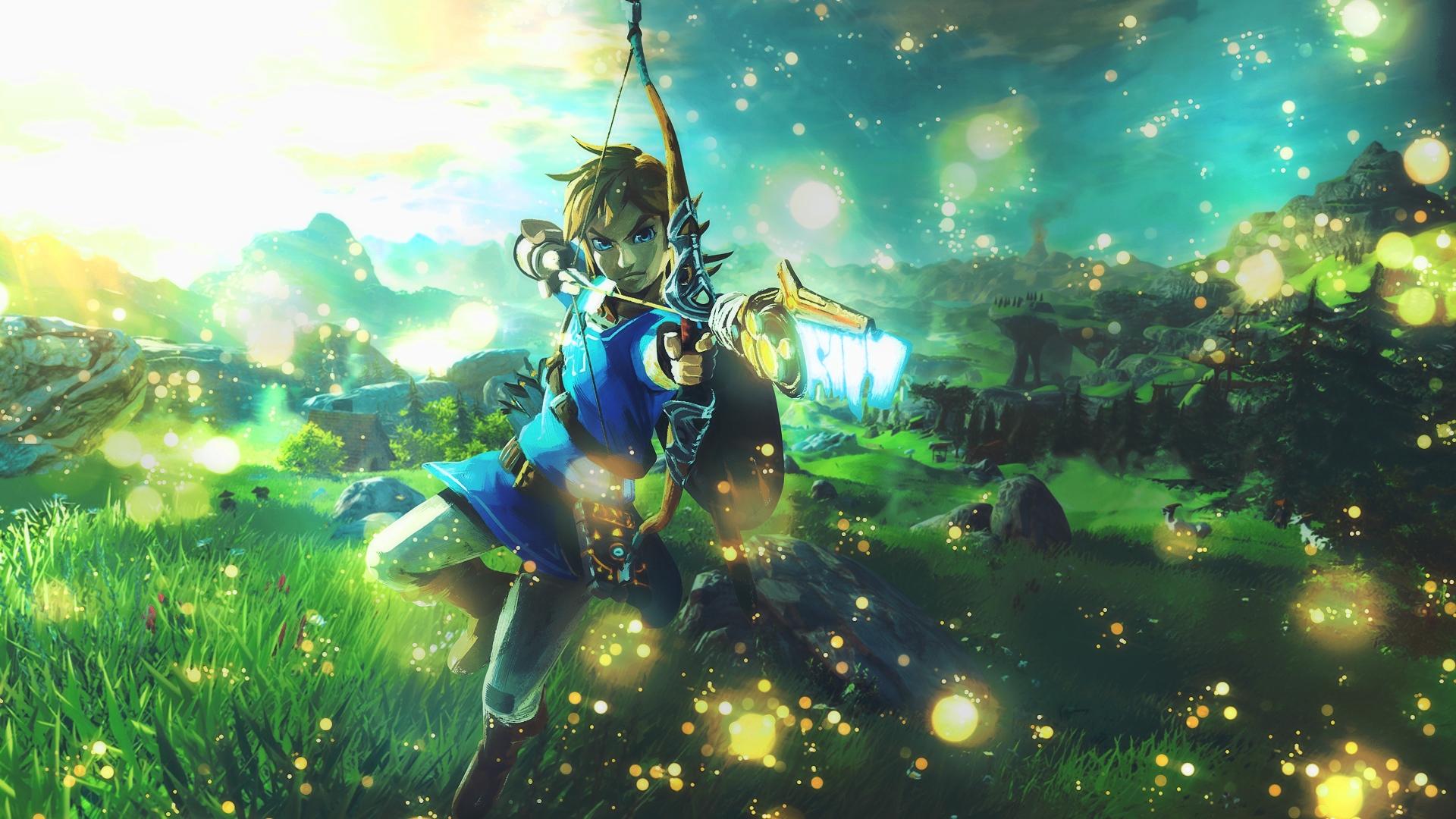 Legend Of Zelda Desktop Wallpaper
