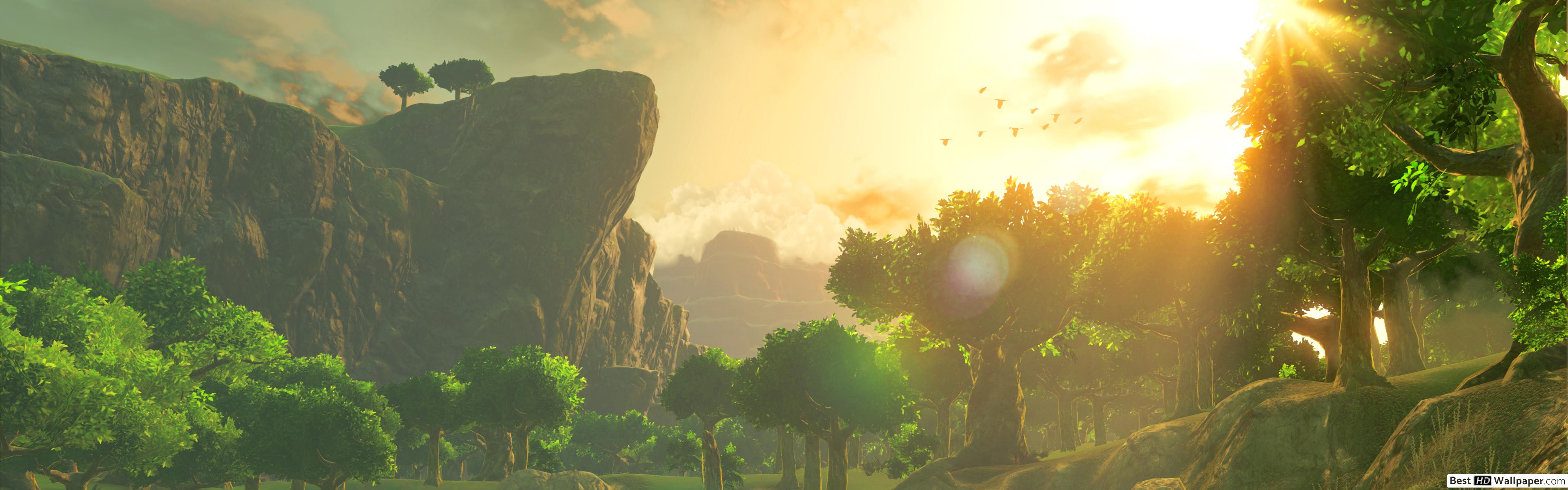 Legend Of Zelda Dual Monitor Wallpaper Posted By Christopher Sellers