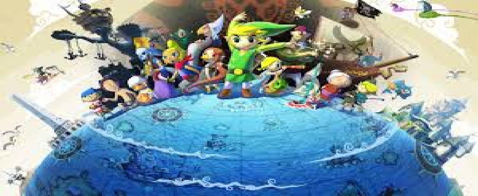 Legend Of Zelda Windwaker Wallpaper Posted By Sarah Tremblay